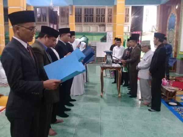 Pelantikan dan Pengukuhan, Pengurus dan Staf Karyawan Pondok Pesantren Al-ittifaqiah