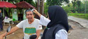 Pemeriksaan di depan kampus D Tanjung Lubuk