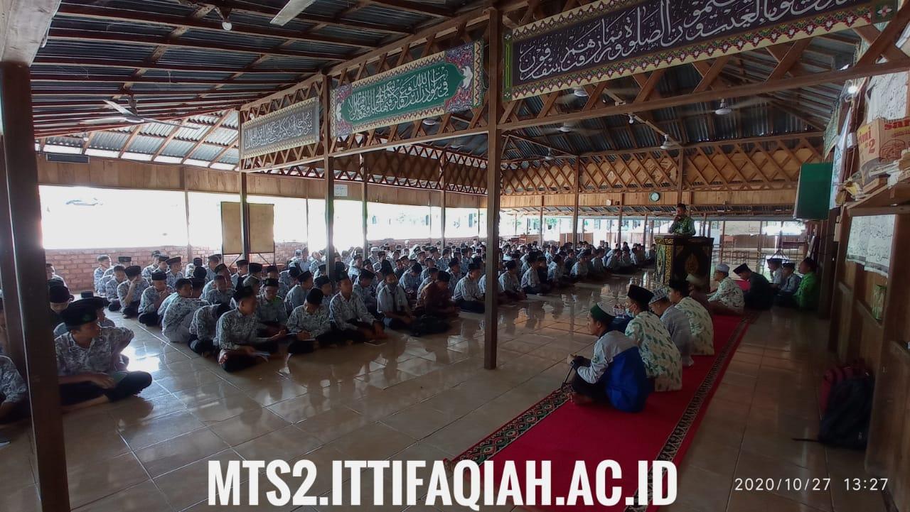 MTs Al-ittifaqiah 2 Pembinaan Pengurusan Jenazah, Sholat Jamak dan Qoshor