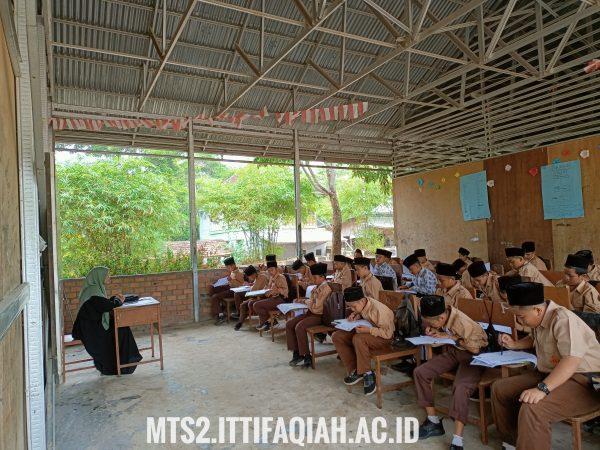 MTs Al-Ittifaqiah 2 Gelar PTS Semester Ganjil 2021-2022